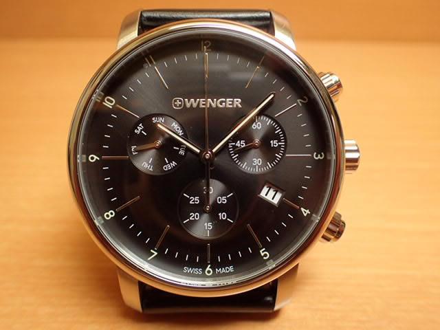 WENGER (ウェンガー) 腕時計 Urban Classic Chrono 01.1743.102 復活
