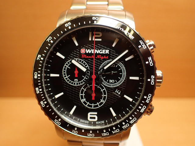 WENGER (ウェンガー) 腕時計 Roadster Black Night 01.1843.103 復活