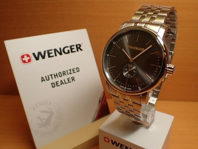WENGER (ウェンガー) 腕時計 Urban Classic Petit Second 01.1741.106 復活