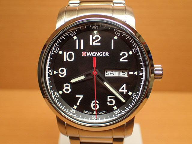 WENGER (ウェンガー) 腕時計 Attitude Day Date Heritage 01.1541.107 復活