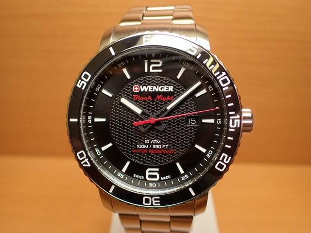 WENGER (ウェンガー) 腕時計 Roadster Black Night 01.1841.104 復活
