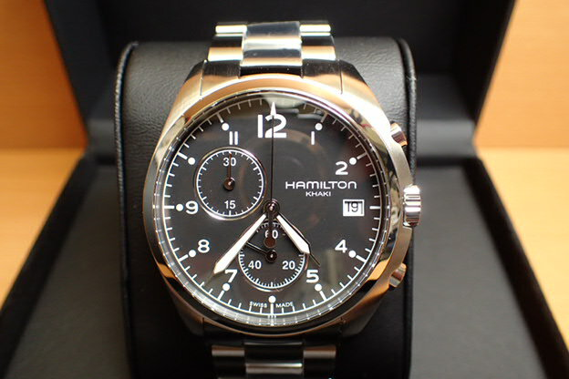 ハミルトン HAMILTON 腕時計 Khaki Pilot Pioneer Chrono カーキ パイロット パイオニア クロノ H76512133 メンズ 【正規輸入品】