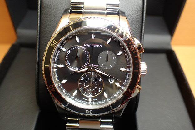 ハミルトン 腕時計 HAMILTON ジャズマスター シービュー クロノクォーツ H37512131