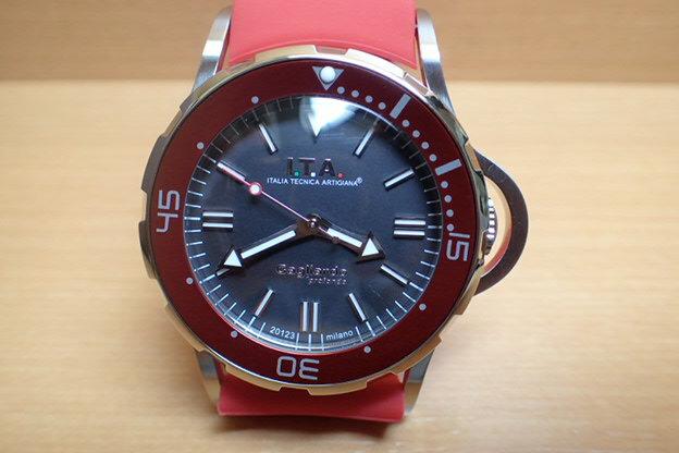 I.T.A アイティーエー 腕時計 Gagliardo profondo ガリアルド・プロフォンド 正規商品 Ref.24.01.03