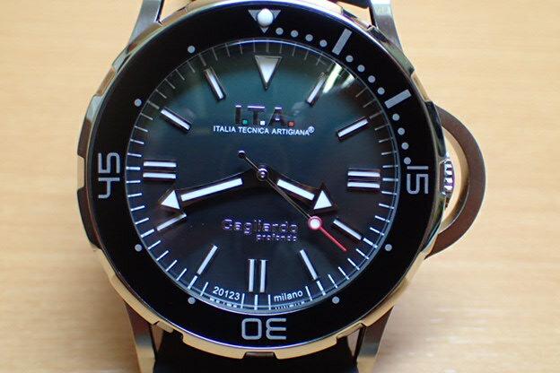 I.T.A アイティーエー 腕時計 Gagliardo profondo ガリアルド・プロフォンド 正規商品 Ref.24.01.05