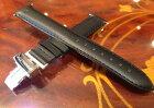 HAMILTON☆ハミルトン☆純正ベンチュラ専用牛革(カーフ)腕時計バンドベルトバックル付きブラック(黒色)17mmH600244103