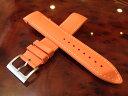 HAMILTON ハミルトン 時計ベルト 純正時計バンド カーキGMT エアレース用 ラバー バンド 21mm オレンジ色 ラバー H600776114