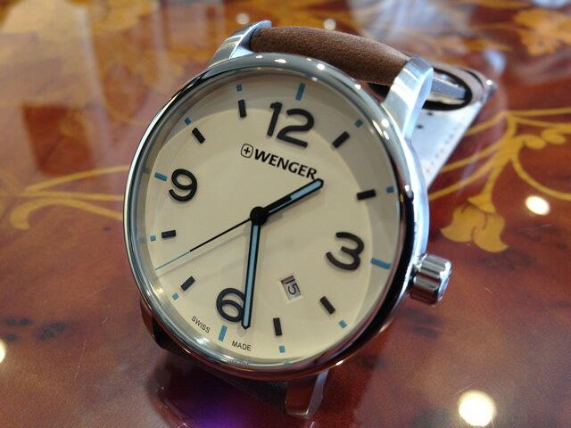 WENGER (ウェンガー) 腕時計 Urban Metropolitan (アーバンメトロポリタン) 01.1741.118e優美堂のウェンガーは安心のメーカー保証3年付き日本正規商品です。