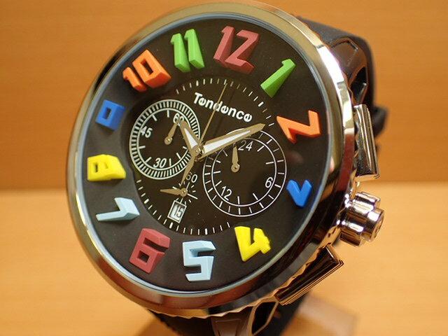 Tendence テンデンス 腕時計 Tendence GULLIVER Rainbow ガリバーレインボー 50mm TG046013R 【正規輸入品】e優美堂のテンデンスは安心のメーカー保証2年付き日本正規商品です。