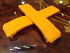 TISSOT☆ティソ☆ティソ T-タッチ エキスパートソーラー 専用 純正ラバーバンド オレンジ色 22mm T610034735 バックルは別売りです