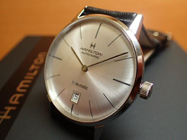 ハミルトン イントラマティック ★ プレゼントつき ★ 腕時計 HAMILTON INTRA-MATIC 38mm H38455751 メンズ 【正規輸入品】