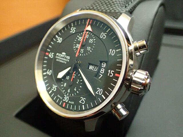 フォルティス 腕時計 FORTIS Cockpit Two Chronograph コックピット 2 クロノグラフ Ref.705.21.19