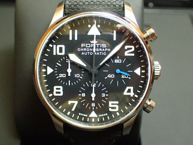 フォルティス 腕時計 FORTIS Pilot Classic Chronograph パイロット・クラシック クロノグラフ Ref.904.21.41LP