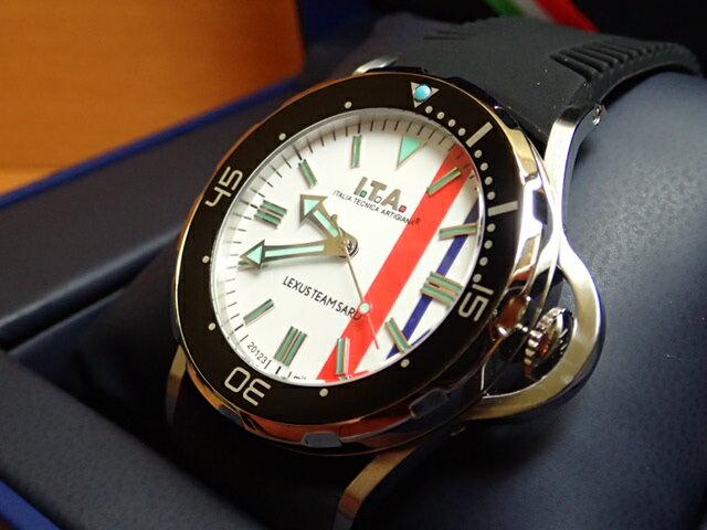 アイティーエー ガリアルド・プロフォンド レクサス チーム サード コラボレーションした日本限定モデル 腕時計 I.T.A Gagliardo profondo LEXUS TEAM SARD 正規商品 Ref.24.01.02S