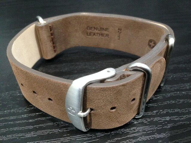 ウェンガー 腕時計 純正 NATO レザーストラップ Seaforce 01.0641.121 専用バンド ベルト
