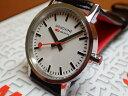 モンディーン 腕時計 ニュークラシック レディース ホワイトダイアル ブラックレザー A658.30323.11SBB優美堂のモンディーンはメーカー…