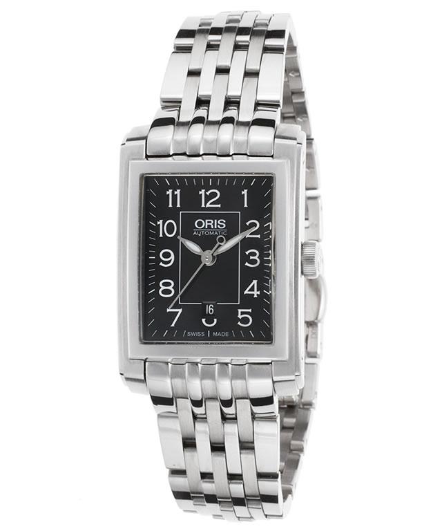 オリス 腕時計 ORIS レクタンギュラーデイト レディースサイズ 56176564034M