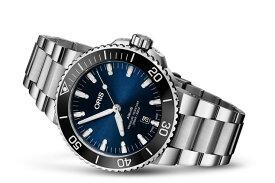 オリス アクイス デイト 腕時計 Oris Aquis date 73377304135M 【送料無料】【正規輸入品】ブルー(ネイビー)ダイヤル メタルブレスレット