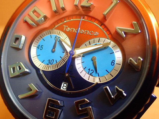 ★最新作 テンデンス 腕時計 Tendence De Color ディカラー 50mm TY146104 【サンセット(夕日)】大自然の色彩からカラーリングを起こしたグラデーションの美しい新コレクション De'Color(ディカラー)