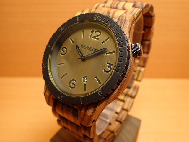 ウィーウッド WEWOOD 腕時計 ウッド/木製 ALPHA ZEBRANO 9818125 メンズ 【正規輸入品】
