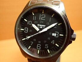 トレーサー腕時計 Traser Officer Gun Black Steel ヴィンテージ加工 9031580 メンズ 正規輸入品優美堂のトレーサー 腕時計は、国内2年保証のついた日本正規品です。