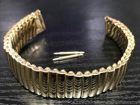 HAMILTON☆ハミルトン☆ 純正 ベンチュラ専用 ステンレス スチール イエローゴールド色 フレックス ブレスレット ベルト 17mm H605243100 【時計はついておりません。バンドのみの販売です】