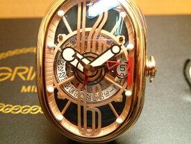 GRIMOLDI グリモルディ腕時計 G.T.O. 交換用バンドつき 腕時計 メンズ GRIMOLDI Gran Tipo Ovale RGSHBK612PK1962年〜1964年にわずかに製造されたフェラーリ250GTOにオマージュした腕時計