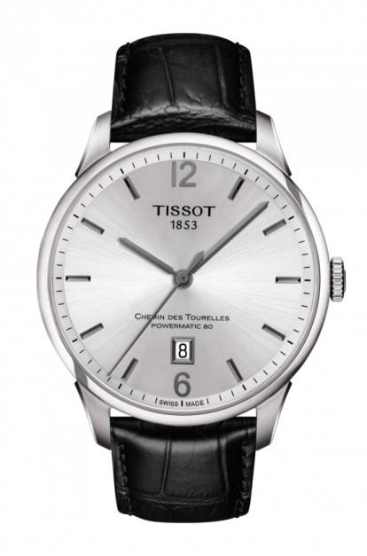 ティソ TISSOT 腕時計 CHEMIN DES TOURELLES (シャミン・ドゥ・トゥレル) パワーマティック80 メンズ T0994071603700 【正規輸入品】 分割払いもOKです優美堂のTISSOT ティソは2年保証のついた正規代理店商品です