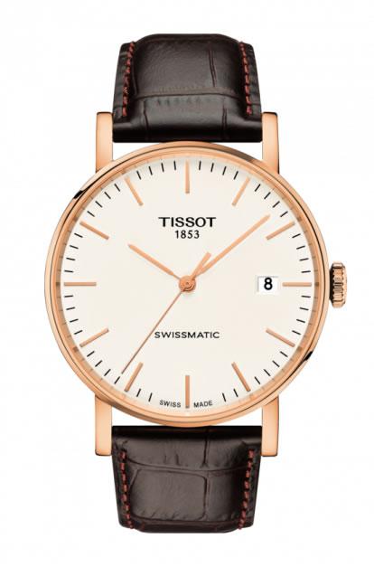 ティソ エブリタイム スイスマティック TISSOT EVERYTIME SWISSMATIC 腕時計 T109.407.36.031.00 メンズ 【正規輸入品】その名が示す通り、いつでも、どんなシーンにもふさわしいウォッチ
