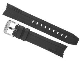 TISSOT☆ティソ☆PRC200 T0554171705700 クォーツ 腕時計用 純正 ラバー ベルト バンド 黒色 ブラック 19mm T603032879 写真の腕時計はつきません