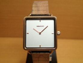 木の腕時計 ウィーウッド WEWOOD 腕時計 ウッド/木製 LEIA ROSE GOLD WHITE 9818204 ホワイト文字盤 レディースサイズ 【正規輸入品】