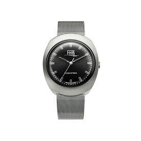 FHB エフエイチビー 腕時計 ノア シリーズ NOAH Series F930BK-MT ブラック文字盤 【正規輸入品】F930は1968年のデザインを復刻 アンティーク感を漂わせるクラシカルなデザインの中にもどこか新しさを感じさせるシリーズです