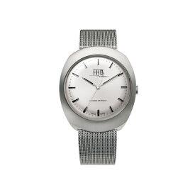 FHB エフエイチビー 腕時計 ノア シリーズ NOAH Series F930WH-MT シルバー文字盤 【正規輸入品】F930は1968年のデザインを復刻 アンティーク感を漂わせるクラシカルなデザインの中にもどこか新しさを感じさせるシリーズです