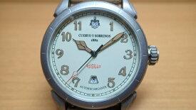 クエルボイソブリノス 腕時計 Domingo Rosillo ヴェロ ドミンゴ ロシ-ヨ 正規商品 Ref.3205.1C クエルボ・イ・ソブリノス 無金利分割も可能です。
