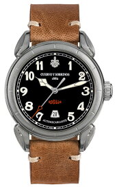 クエルボイソブリノス 腕時計 Domingo Rosillo ヴェロ ドミンゴ ロシ-ヨ 正規商品 Ref.3205.1N クエルボ・イ・ソブリノス 無金利分割も可能です。