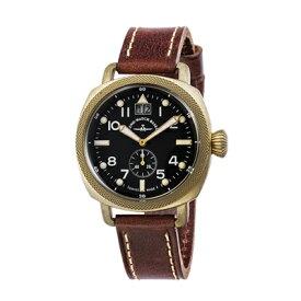 ZENO-WATCH ゼノウォッチ クォーツ 腕時計 Bronze Cushion 201-2-BK-BR 正規輸入品