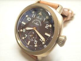 ZENO-WATCH ゼノウォッチ クォーツ 腕時計 Bronze Cushion 201-2-BR-CM 正規輸入品