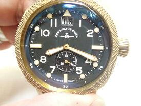 ZENO-WATCH ゼノウォッチ クォーツ 腕時計 Bronze Cushion 201-2-BK-BK 正規輸入品