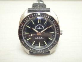 ZENO-WATCH ゼノウォッチ クォーツ 腕時計 Vintage divers 201-3-SV-BK 正規輸入品