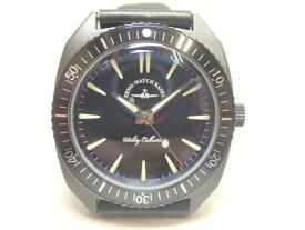 ZENO-WATCH ゼノウォッチ クォーツ 腕時計 Vintage divers 201-3-BB-BK 正規輸入品