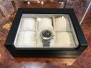 プレゼントに大好評! 6本用 時計ケース 時計収納ケース 合皮 ウォッチ コレクション ボックス ケース