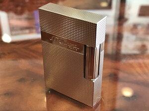 S.T. DUPONT デュポン ライター ライン2 スモール マイクロダイヤモンドヘッド パラディウム Ref:C18690