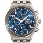 ジン腕時計Sinn358.SA.FLIEGER.B.Eダークブルーダイヤルとアイボリーカラーの夜光処理を備えた伝統的クロノグラフお手続き簡単な分割払いも承ります。月づきのお支払い途中で一括返済することも出来ます