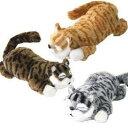 爆笑猫ちゃん 笑い転げる猫 笑うネコ 可愛い 音センサー ぬいぐるみ