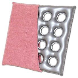 エアークッション「タフ」タオル地カバー付き 16穴 床ずれ防止用具 介護用品