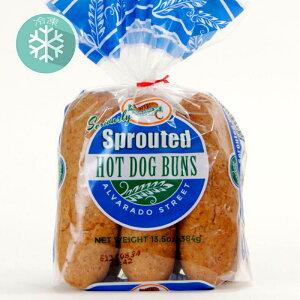無添加冷凍パン■スプラウト・ホットドックバンズ(6本)発芽小麦を使用(冷凍) 384g ★原産国アメリカ