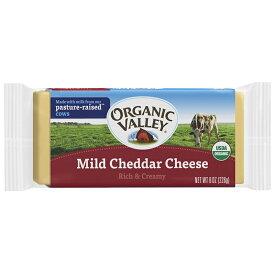 無添加 有機チェダーチーズ(マイルドタイプ) 226g★アメリカ農水省認定USDA ★クロップスのチーズ