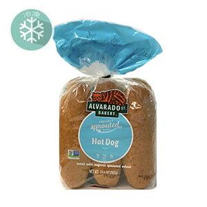 無添加冷凍パン■スプラウト・ホットドックバンズ(6本)発芽小麦を使用(冷凍) 383g ★原産国アメリカ