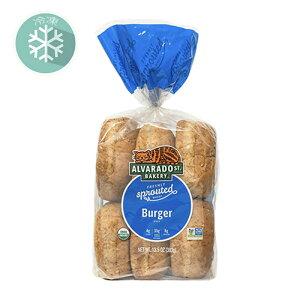 無添加冷凍パン■有機スプラウト・バーガーバンズ (6個)発芽小麦を使用(冷凍) 383g ★原産国アメリカ