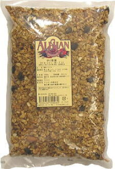 Certified organic American QAI food without fear of radioactivity import Apple, raisins, walnuts and Granola (Granola) (commercial) 1 kg